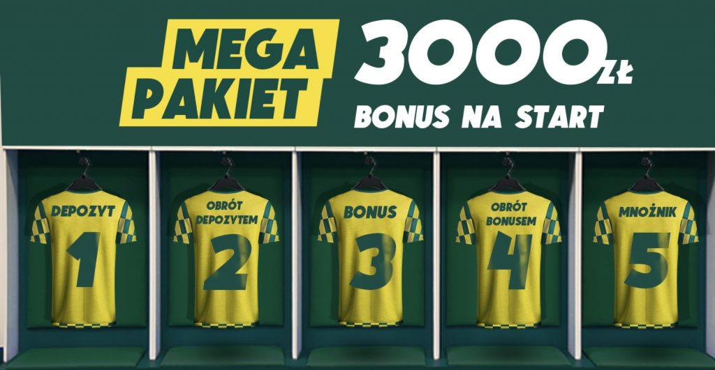 Bonus powitalny Betfan. 3100 PLN - mało kto potrafi to przebić