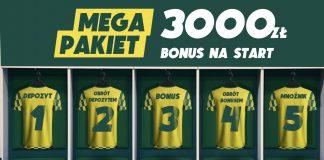 Największy bonus powitalny w Polsce - 3000 zł w Betfan!
