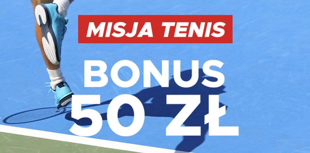 Betclic rozdaje 50 PLN na US Open